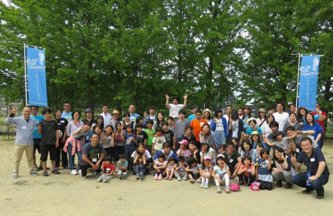 「いくよ!福島2015」白河学園で児童たちとふれあいました